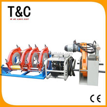 CE passed from 160mm to 315mm hydraulically chinese four rings hdpe pipe butt fusion welding tsd315