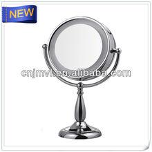 soporte compacto cosméticos de maquillaje espejo del led