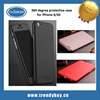 360 degree all-round protect plastic iPaky case for iphone 6s case for iphone 6s plus case