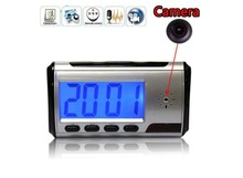 Mini Security hidden Clock Digital Camera with Remote Control, Motion Detection