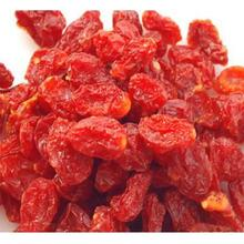 conservado merienda saludable de tomate cherry secos