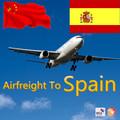 Internacional de carga aérea a valencia, españa