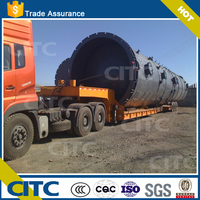 gooseneck detachable & trailer body extendable long vehicle for goods transport low bed semi trailer