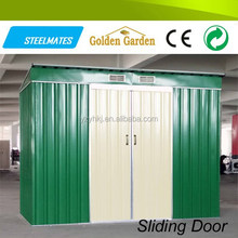 double color waterproof metal steel house of customized size