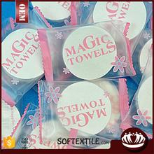 heart magic towel christmas mini towel coin tissue