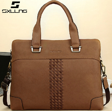 Stylish Messenger Baigh Quality Mens Leather Messenger Shoulder Travel Bag Men