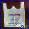 Best popular for fruit packaging factory wholesale custom cheap t-shirt plastic shopping bag