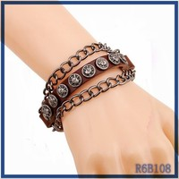 Unisex unique leather bracelet engraving mexico latest best sell pu leather bracelet buy from China