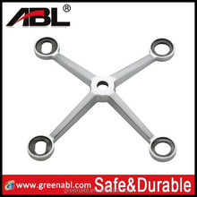 anti rust 304 / 316 stainless steel spider fitting for construction material