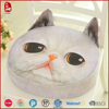 High quality material comfort plush toy cat cushion