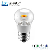 energy saving 1.5W P45 led filament light bulb