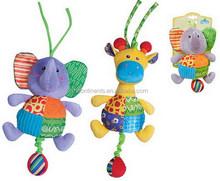 Plush pull shock toy Baby plush toys