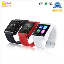 "chinese digital smartwatches cheap 1.44"" mtk2501 buletooth 4.0 U8 smart watch phone"