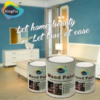 KINGFIX Brand non-toxic furniture paint white pearl paint