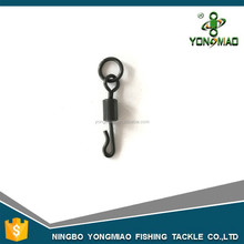 High quality Long body Q-shaped swing snap with solid ring for carp fishing accessory