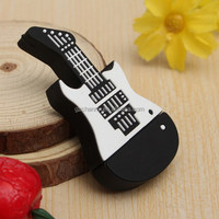 New 32GB Cartoon Guitar Model USB 2.0 Flash Memory Stick Storage U Disk Thumb Pen Drive