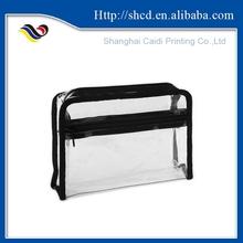 PVC Plastic Clutch Bag,PVC Waterproof Zip Lock Bag,Cosmetic Bag PVC