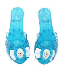 2014,newest toy high heel shoes for elsa in frozen kid shoes/princess shoes