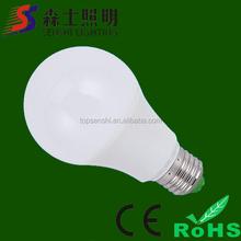 Plastic-Aluminium LED bulb high quality AC85-265V good price zhongshan exporter
