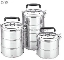 wholesale stainless steel multi-layer tiffin box food carrier