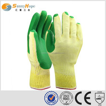sunnyhope smooth finish industrial gloves latex coatted