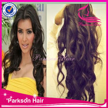 wholeale sale new fashion style quality 100% human hair may may wigs indian hair