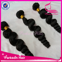 Top quality 5A human hair deep wave virgin brazilian human hair extension weave in stock cheap factory price