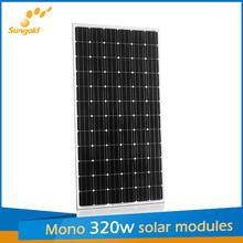 biggest solar panel 320w made of Germany mono solar cells