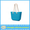 Wholesale candy color tote bag silicone/simple style rubber silicone handbags