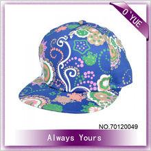 Pretty Girl Flower Royal Navy Baseball Caps