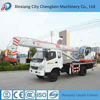 Construction/Workshop/High-rail Building 6ton Truck Crane