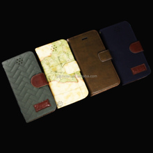 2014 Various designs pattern stand leather case for iphone6 leather cover with card holder