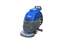 Automatic hand push floor cleaning machine with 24V battery