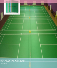 Vinyl Badminton flooring roll indoor sports flooring