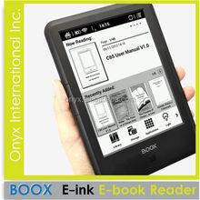 2014 New Eink 6'' Touch Screen Ebook Reader
