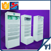 Wood clothing wall cabinets/Decoration wall display case/Antique wall display cabinet