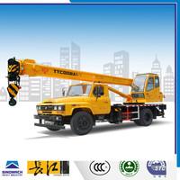 Changjiang TTC008A1-V 8 ton small crane, Hydraulic Truck Cranes