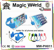 hands design fashion cell phone holder for iphone for ipad for samsung