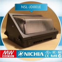 Free Samples parking 100w new outdoor led wall pack flood light with etl dlc certificates ip65