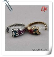 Fashion alloy cute owl ring (QXFJ11176)