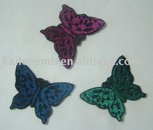 Applique patch Butterfly a variety of colors