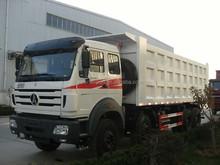 Beiben 8x4 12 wheels sand tipper truck for sale 40ton dump truck good price