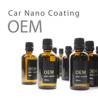 hard car wax nano hydrophobic crystal paint protection