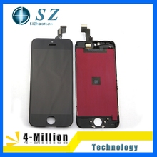 Black & White 100% Warrant New Original LCD Replacement screen+Digitizer Touch complete Assembly For iphone 5c