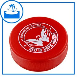 promotional gift imprint logo custom PU Hockey Puck Stress Toy