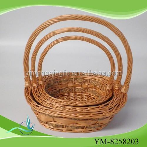 2015 new salgueiro cesta de flores set para venda