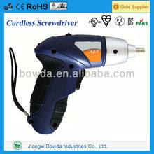 High quality cordless electric screwdriver