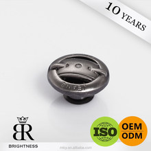 Custom jeans metal buttons parts rim for wristbands Brightness A1-80466