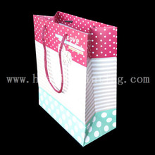 nice quality paper bag with recycled paper