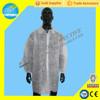 SBPP SMS nonwoven blue white disposable lab coat uniform,lab uniforms